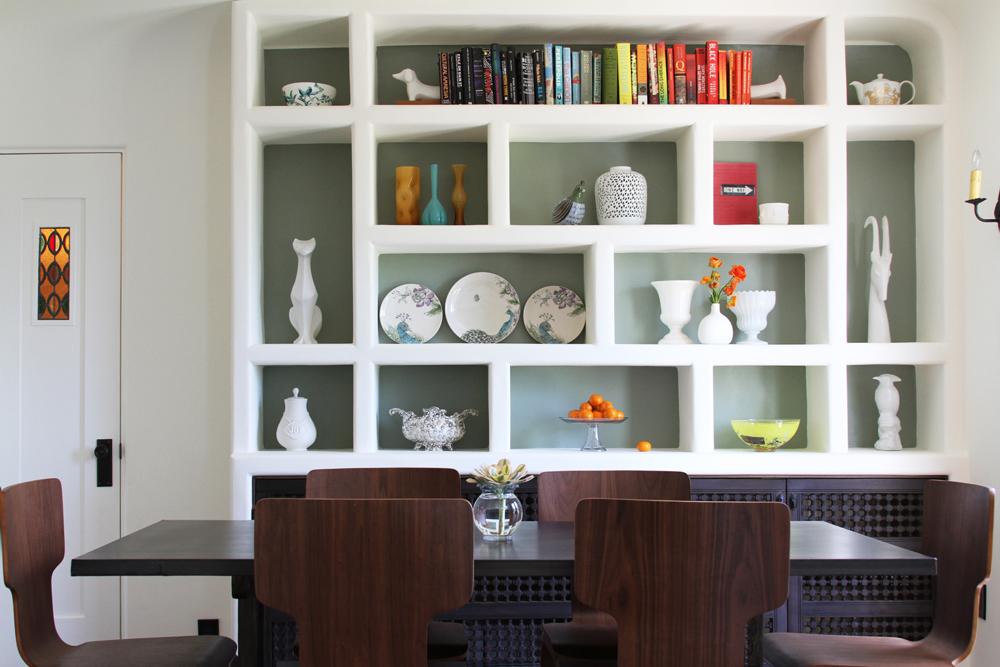 Best dining room shelving images for Dining room shelves